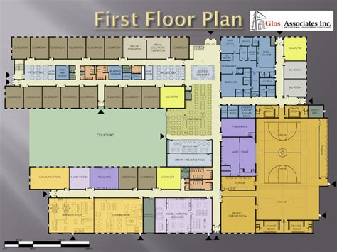 floor plan of school building secondary school building plan modern house