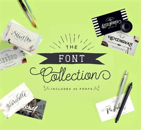design font collection the font collection 40 beautiful pua encoded fonts