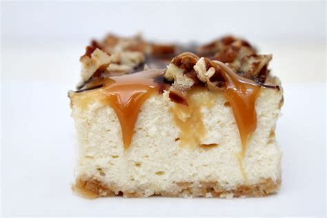 Cheesecake Topping Bar by Caramel Pecan Cheesecake Bars