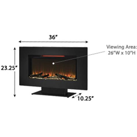 classicflame 36 in elysium infrared classicflame 36 in elysium infrared wall hanging electric