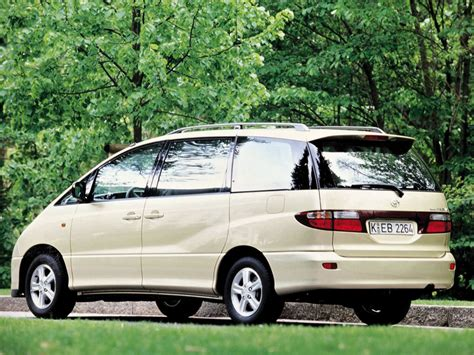 toyota previa toyota previa technical specifications and fuel economy