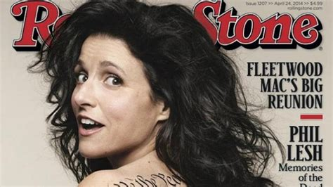 julia louis dreyfus tattoo louis dreyfus reveals all on cover of rolling