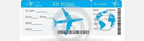 air ticket template ticket template for plane exle of plane ticket