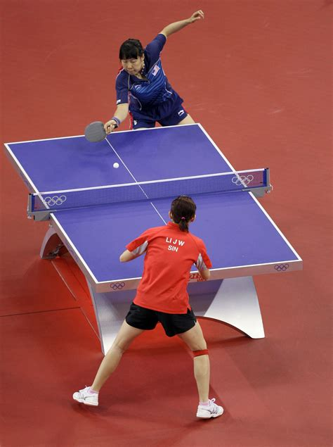 Table Tennis Keep One Change One
