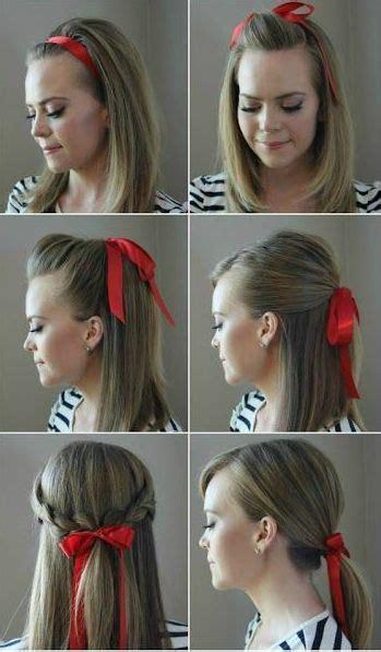 como colocar la cinta en los peinados de nia peinados de ni 241 a con cintas paso a paso