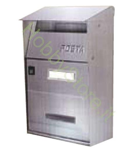 cassetta portalettere cassetta portalettere acciaio inox zigrinato a 45 00 iva inc