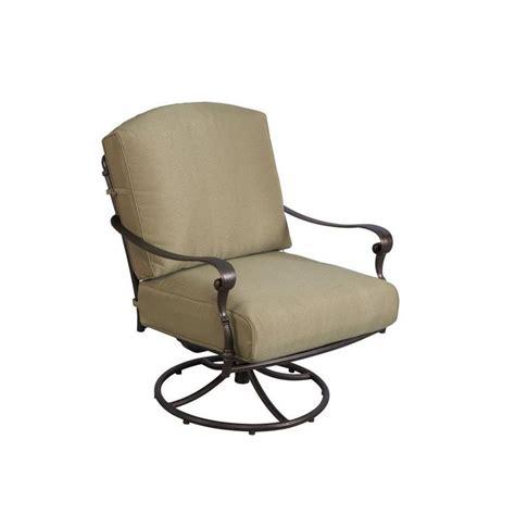 Edington Swivel Rocker Patio Lounge Chair with Celery
