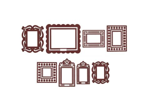 stick frames to wall wholesale brown stickr peel stick wall frames kit
