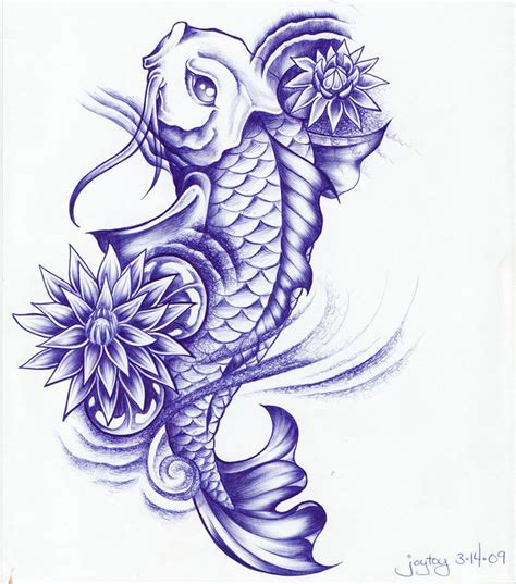 koi fish with lotus flower tattoo designs 30 koi fish designs with meanings