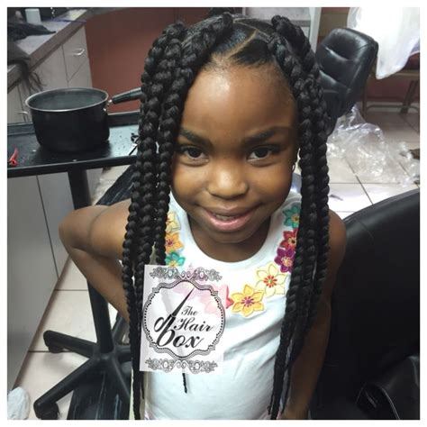 kids hairstyles for box braids extensions 17 best images about braiding hairstyles on pinterest