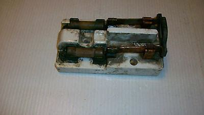 Antique Trumbull 3 Pole 60amp Knife Switch