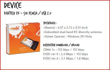 Pantech Px 500 Evdo Rev A mobi mobile broadband dari mobile 8 gado2 ahmandonk