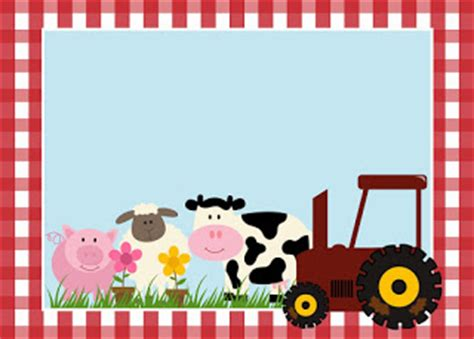 free printable farm party invitations. | oh my fiesta! in