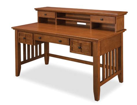 Mission Style Desk With Hutch Mission Style Desk Simplicity At Its Best