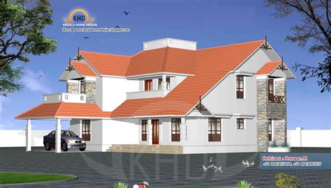 10 years of sweet home 3d superb application for rendering of home elevation exteriors kerala home design