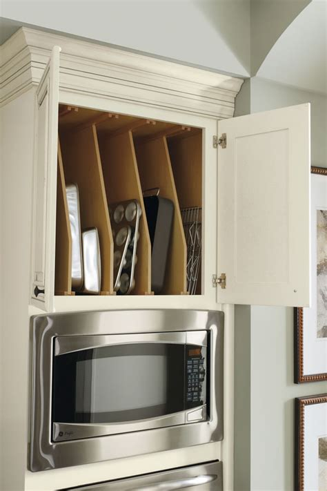 Tray Dividers For Kitchen Cabinets by Oven Cabinet Tray Divider Cabinetry