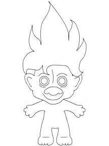 gallery gt troll coloring pages
