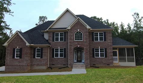 two story home all brick two story home apex home builders stanton homes