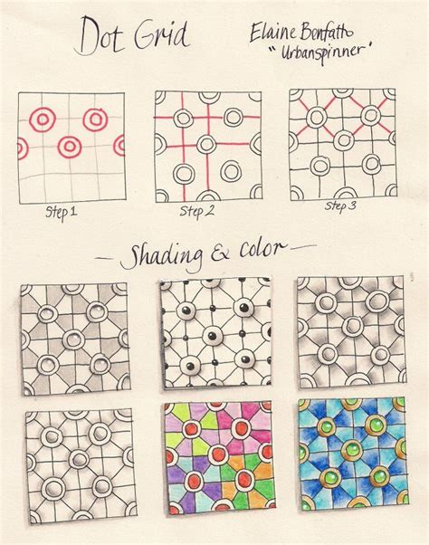 dot pattern graph 21 best zentangle inspirations images on pinterest