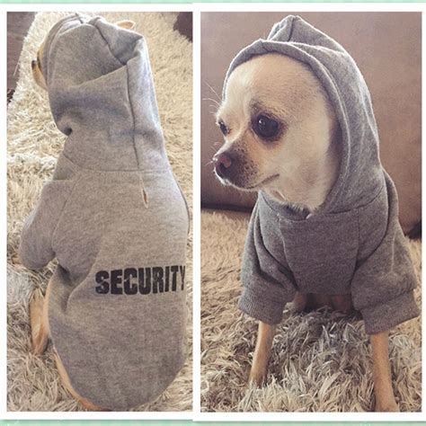 Small Dogs For Home Protection Security Pet Clothes For Small Dogs Warm Coat