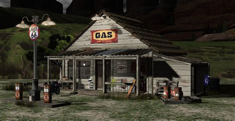 Stand Alone Garage Designs bee designs old gas station love to decorate sl