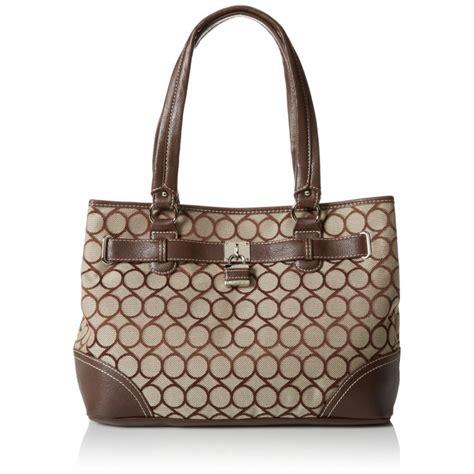 9 Nine West Handbags by Nine West 9s Jacquard Satchel Handbag Cheap Product