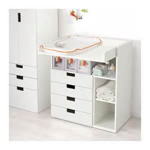 Ikea Changing Table Stuva Changing Table With 4 Drawers White 90x79x102 Cm Ikea