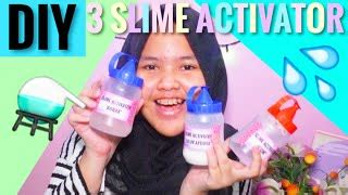 cara membuat slime activator no borax how to make slime activator no borax antidiary video