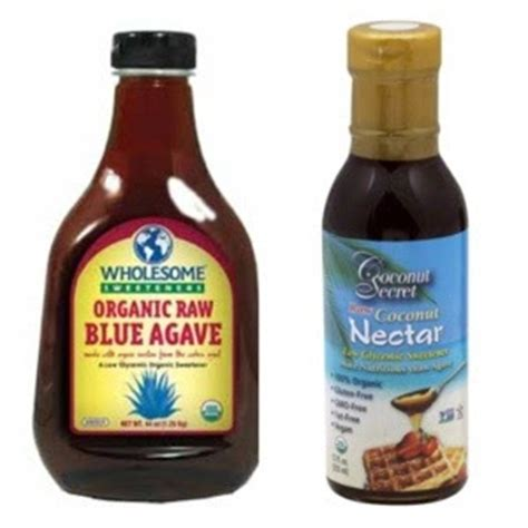 rawveganliving agave nectar vs coconut nectar the