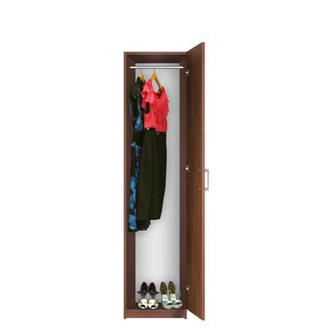 narrow wardrobe right opening door contempo space
