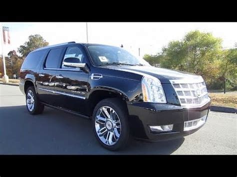 all car manuals free 2010 cadillac escalade navigation system 2011 cadillac escalade esv platinum start up exhaust and in depth tour youtube