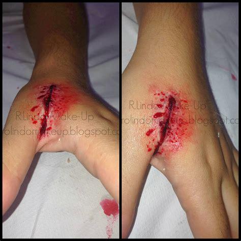 imagenes de heridas asquerosas r lindo make up herida incisa