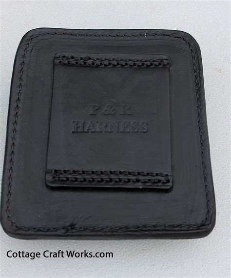 Glock Gun Clip Brown leather clip holder for glock and xt revolvers