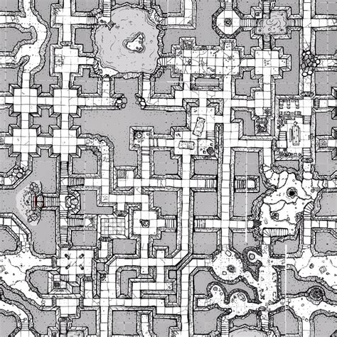 How To Draw A Floor Plan By Hand inked adventures 187 mock up map views using geomorph tiles