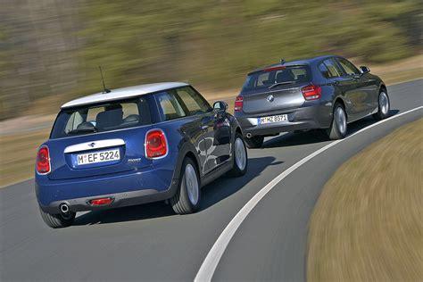 Bmw 1er Vorderrad Antrieb by Vergleich Bmw 1er Gegen Mini Bilder Autobild De