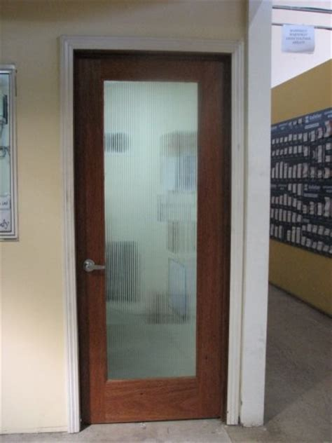 Reeded Glass Doors Reeded Glass Door