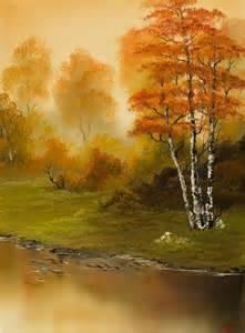 bob ross painting on black bob ross autumn splendor painting artists
