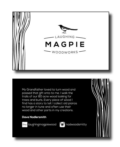 magpie house design laughing magpie woodworks casey guenther designs graphic design signs decals
