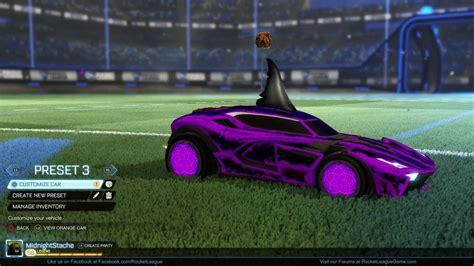 black zombas rocket league 174 purple zomba wheels youtube