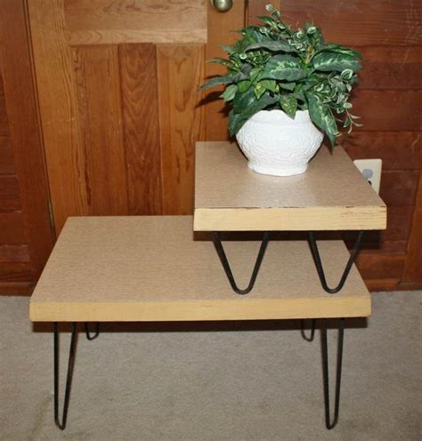 vintage end table 1950s 93 best images about 1950 s blond furniture on
