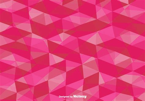 vector background vector pink polygonal background free vector