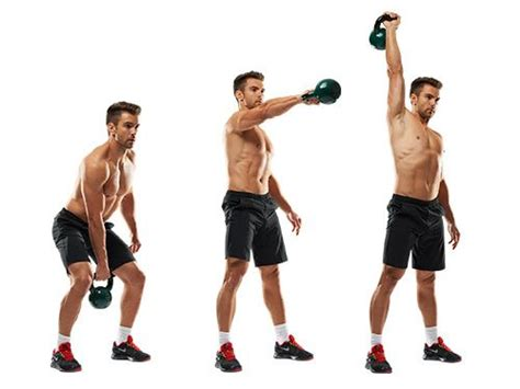 Kettlebell Swing With Dumbbell - 22 different kettle bell exercises you can do for a great