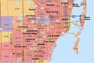 south florida zip code map zip codes in florida miami and miami