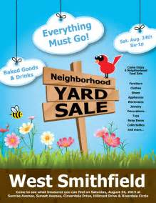 yard sale template 14 best yard sale flyer templates psd designs free
