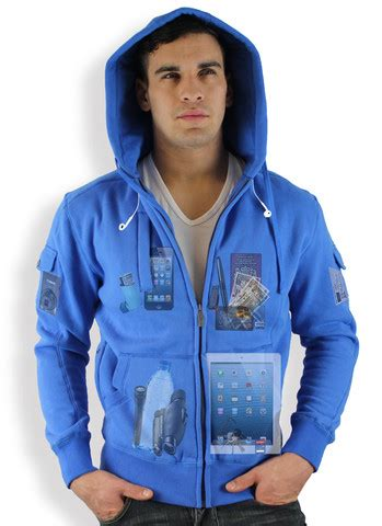 Jacket Hoodies My Trip the ayegear h13 hoodie clothing for the techie traveler appadvice