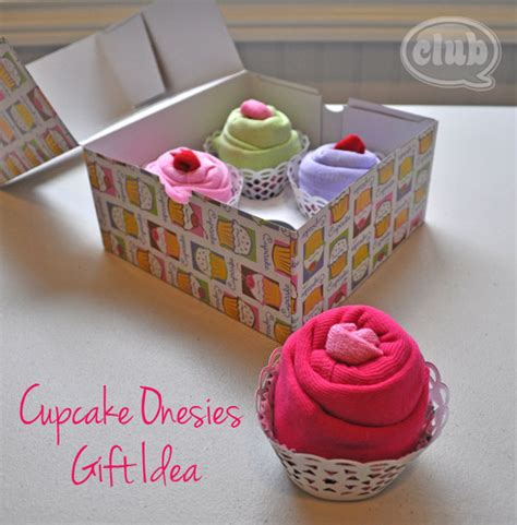 cupcake box ideas cupcake onesies gift idea
