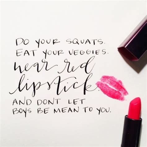 Lipstick Lettering