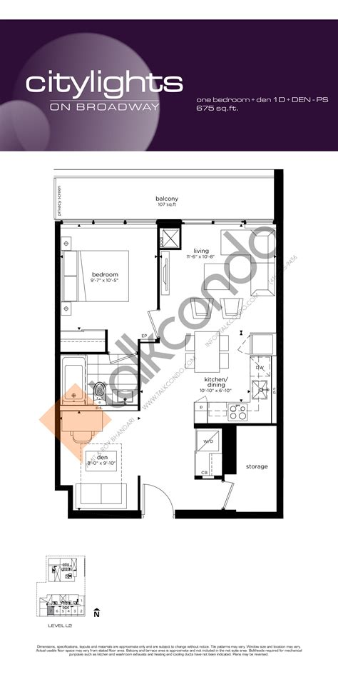 citylights condo floor plan citylights on broadway condos talkcondo