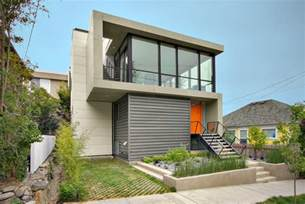 That Home Site Decorating Modern House Design On Small Site Witin A Tight Budget Crockett Residence Digsdigs