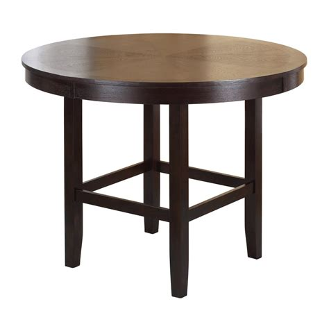 42 inch high dining table modern 42 inch high square